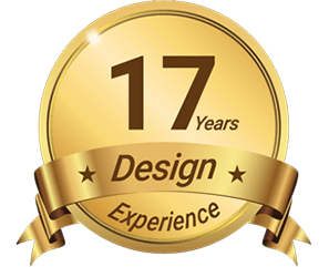 17 years design experience