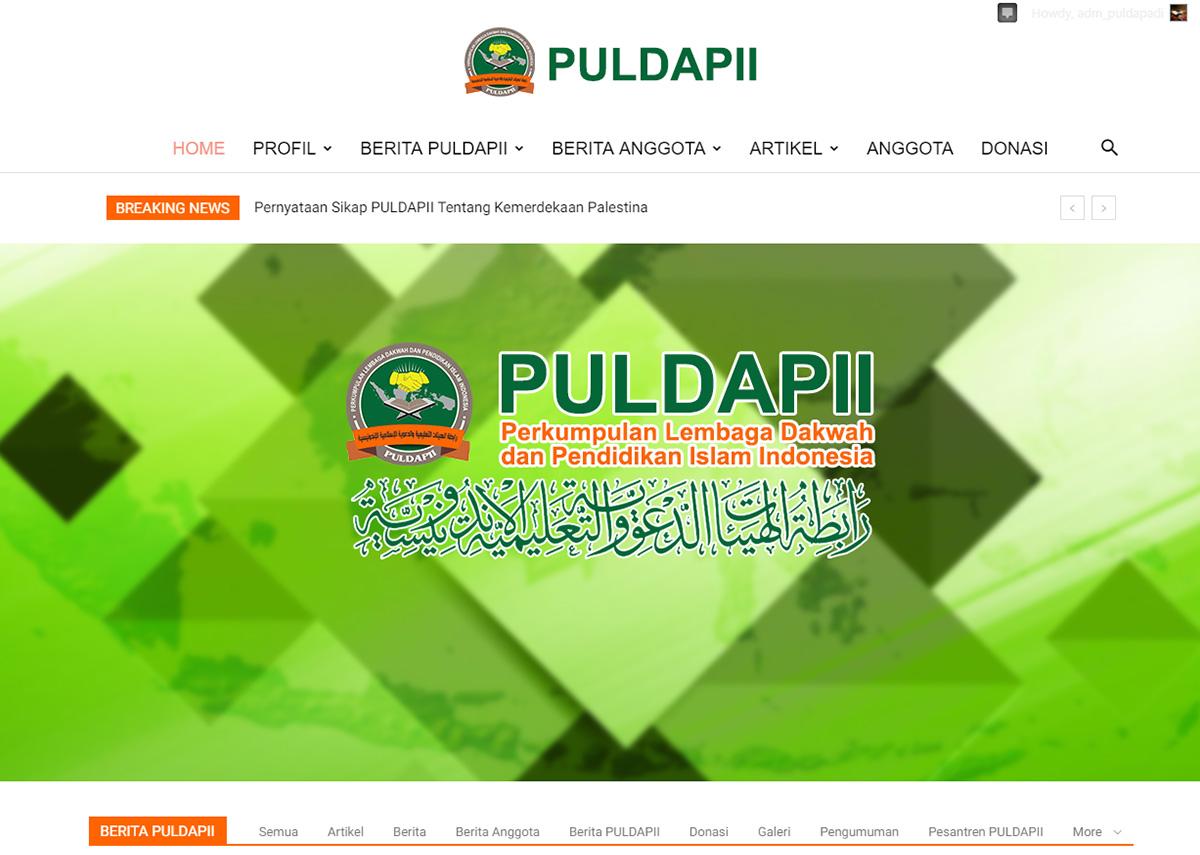 website puldapii.or.id
