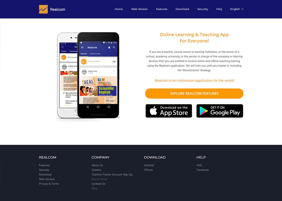 website realcom.id