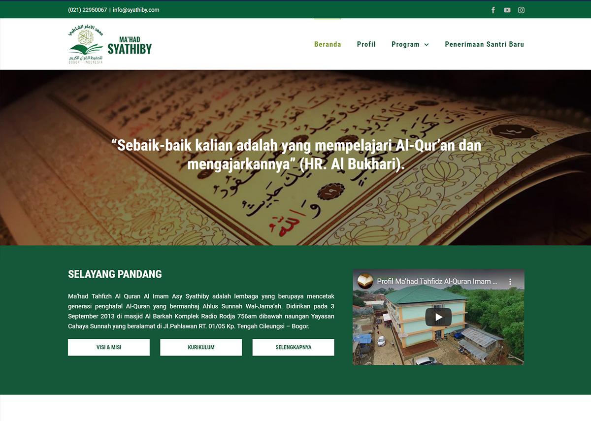 website syathiby.com