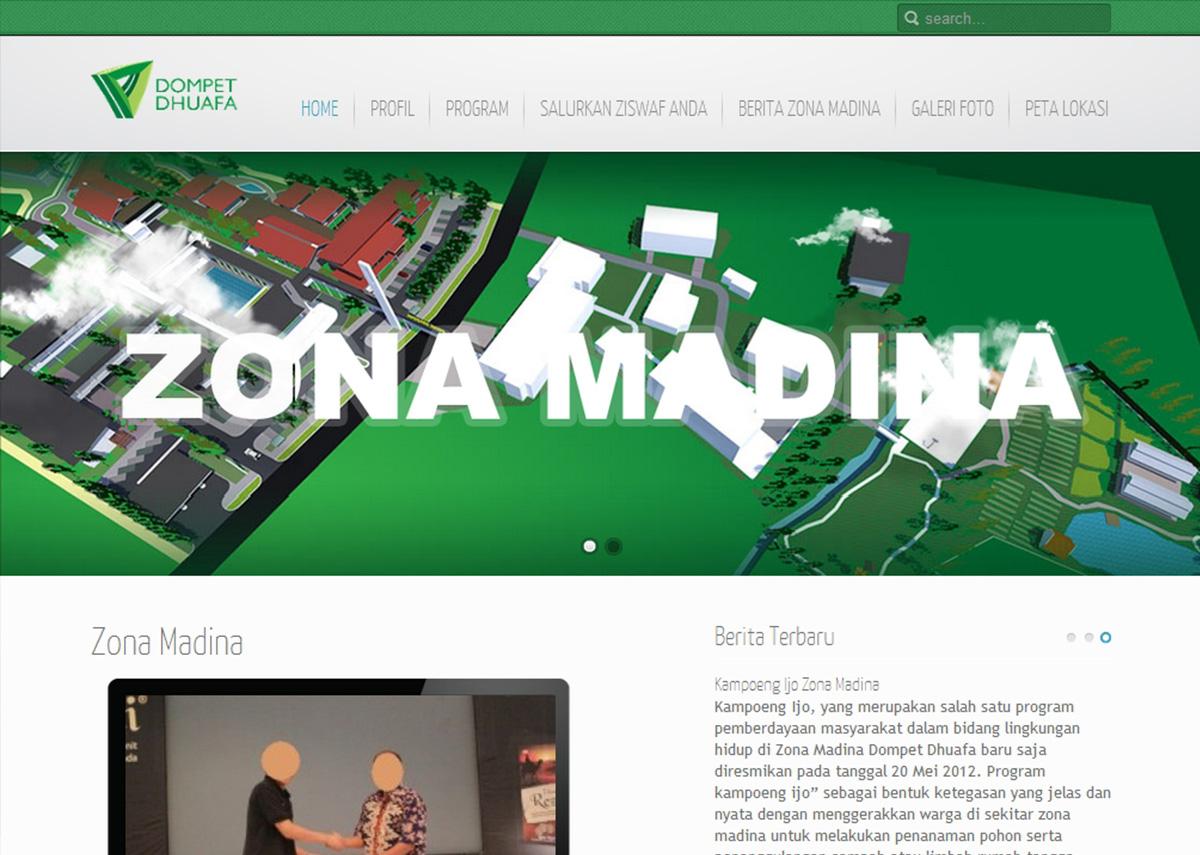 website zonamadina.com